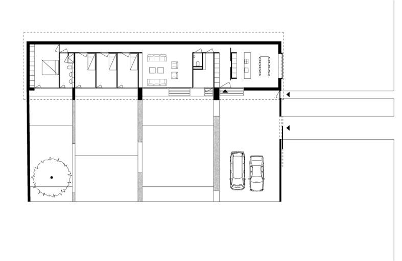 Element A_The Long Wooden House_plan00